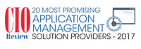 20 Most Promising Application Management Solution Providers - 2017